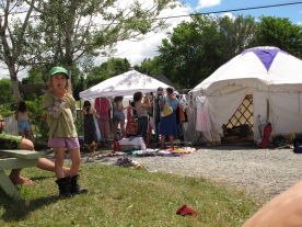 lovely clothes for sale by Maggie MacCormick and the youthful peoples yurt
